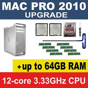 12-Core-X5680-3-33Hz-CPU-16GB-32gb-64GB-1333MHz-memory-2010-Apple-Mac-Pro-5-1