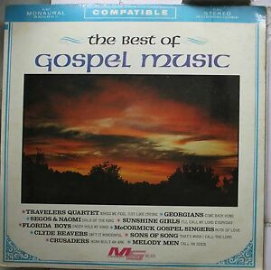 Country-Sealed-Lp-Various-Artists-The-Best-Of-Gospel-Music-On-Modern-Sound