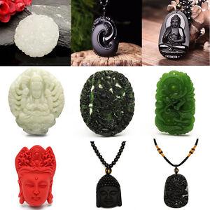 Collier-Tibetaine-Bouddhiste-Bouddha-Mala-pendentif-Chaine-Femme-Homme-Cadeau