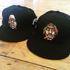 Image is loading biggie-smalls-2pac-set-Embroidered-snapback-cap-weed- d235b8a69576