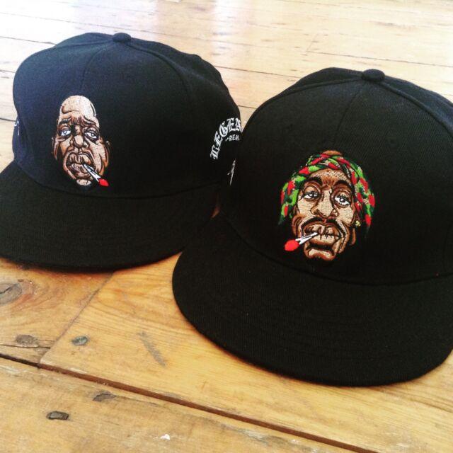 biggie legend snapback cap weed thc ganja cannabis big t shirt dank rap