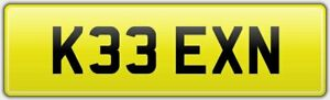 KEEN-KISS-THEME-PRIVATE-CAR-REG-NUMBER-PLATE-K33-EXN-ALL-FEES-PAID-KEENY-KEAN