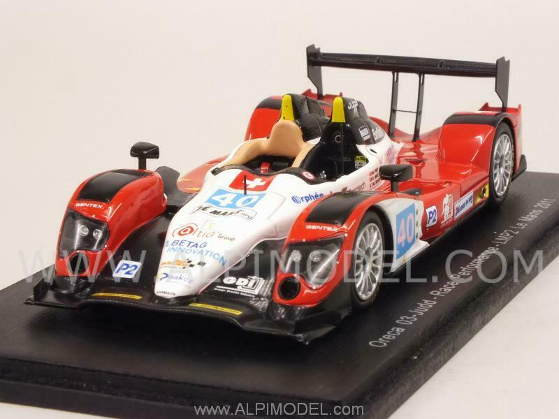Oreca 03-Judd Le Mans 2011 Frey - Meichtry - Rostan 1 43 SPARK S4555