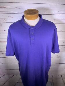 Nordstrom-Mens-Shop-Blue-Polo-Shirt-Short-Sleeve-Size-XXL-E