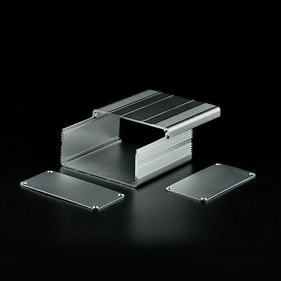 Aluminum Electronic Project PCB Instrument Box Case Enclosure DIY - 100*100*50mm