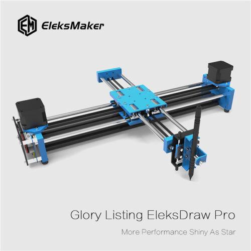 EleksMaker® EleksDraw Pro Metal 2 Axis XY Plotter Pen Drawing Robot Drawing Mach