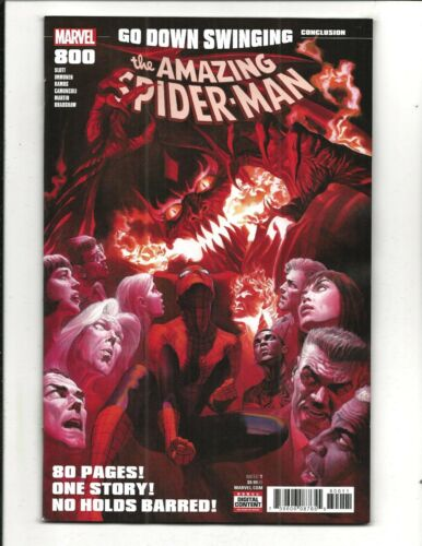 AMAZING SPIDER-MAN # 800 NM NEW LEG 1st PRINT, 80 PG. GIANT, July 2018
