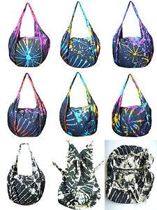 kombi rucksack umh ngetasche schulter tasche batik. Black Bedroom Furniture Sets. Home Design Ideas