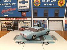 PAPERCRAFT 1970 Oldsmobile Cutlass Rallye 350 coupe paper model car EZU-make