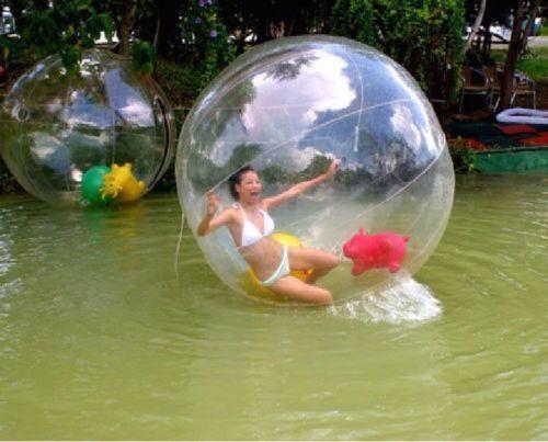 2m PVC Ball Human Hamster Ball Zorb Inflatable Bubble Ball Water Walking Ball AU