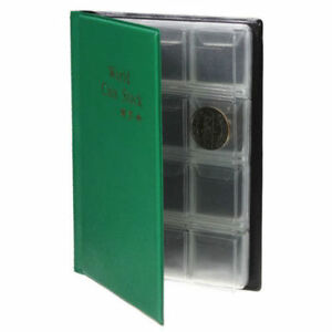 Muenzenalbum-Muenzalbum-fuer-120-Stueck-Muenzen-Sammlung-NEU-AA