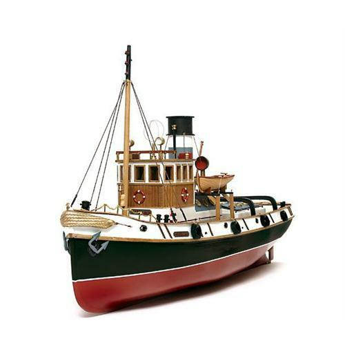 Occre Ulises Tug 1 30 Scale Model RC Wood & Metal Boat Kit 61001