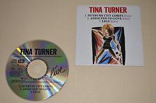 Tina Turner - Live / 3 Track Single in Carboard / Capitol 1988 / W. Germany /Rar