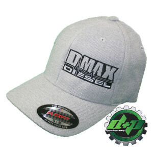 Image is loading S-M-DMAX-Diesel-Flexfit-fitted-stretch-fit-trucker- f876427b1872
