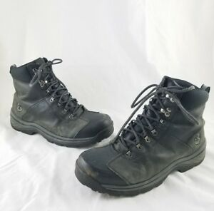 Mens Timberland Campsite Two Tone Boots Oxblood 7