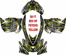 SKI DOO SNOWMOBILE WRAP REV,XP, XR,XS,XM MXZ  99-16 PSYCHO DECAL STICKER