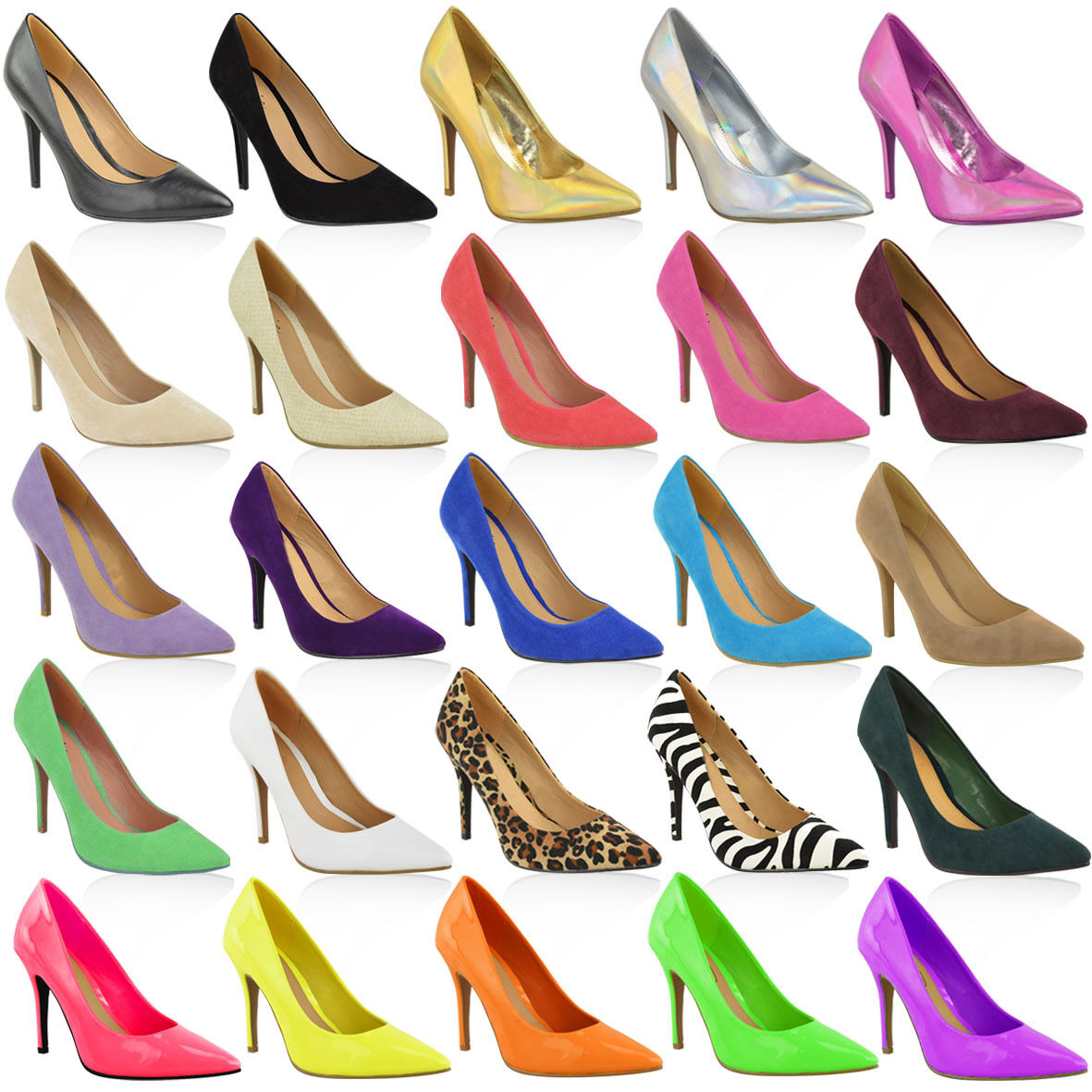 Men's/Women's WOMENS WEDDING LADIES MID HIGH HEEL WEDDING WOMENS BRIDAL PARTY PROM STILETTO COURT SHOES SIZE Every item described is available International choice Various latest designs WG843 7c78b3