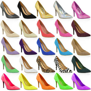 WOMENS-LADIES-MID-HIGH-HEEL-WEDDING-BRIDAL-PARTY-PROM-STILETTO-COURT-SHOES-SIZE