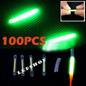 New-100PCS-Chemical-Lights-Fishing-Fluorescent-Dark-Glow-Sticks-Tackle-4-5-37mm
