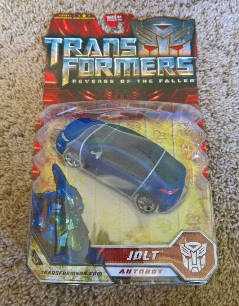 Jolt - transformers Revenge of the Fallen - NY - MOSC - NEAR FLAWLESS