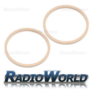 8-034-200mm-MDF-Speaker-Spacer-Mounting-Rings-12mm-Thick-ID-182mm-ED-202mm-Pair