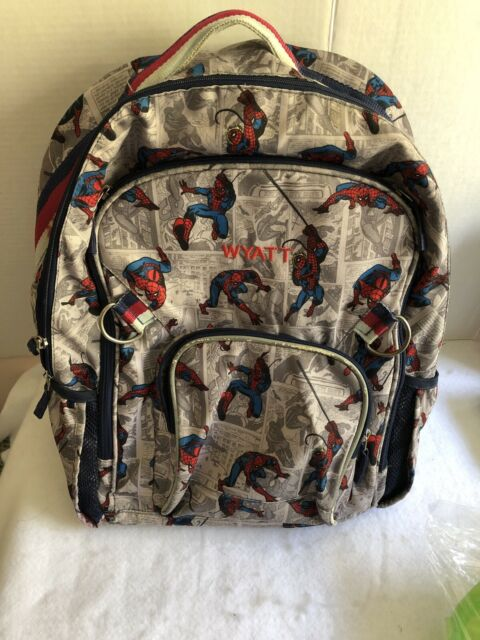 Pottery Barn Kids Spiderman Mini Backpack Marvel Pre K Ebay