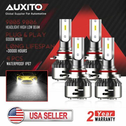 AUXITO 9005+9006 LED Headlight Bulb Hi//Lo Beam Fit for 2000-2012 GMC Savana 3500