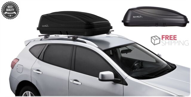 Rooftop Thule Sportrack Case Suv Car Storage Organizer Cover Carrier Rack For Sale Online Ebay