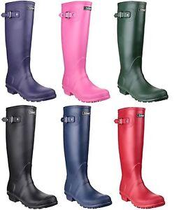 Cotswold-Sandringham-Impermeable-Mujer-Clasico-PVC-Botas-Wellington-Wellies