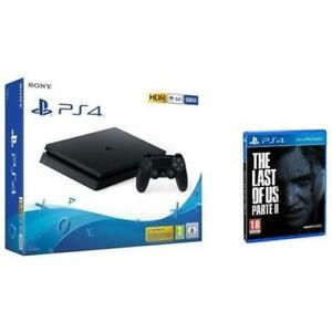 SONY-Console-PlayStation-4-Slim-500GB-The-Last-of-Us-2