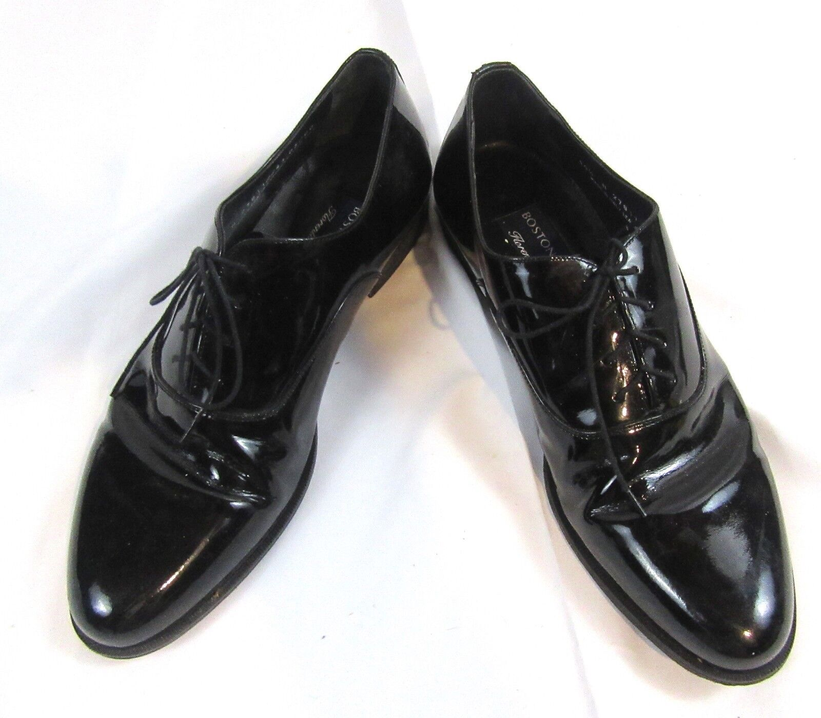 Bostonian Pantent Leather Leather, Dress Formal Shoes, Tuxexo Leather, Leather Mens shoes SZ 10 N a1ed83
