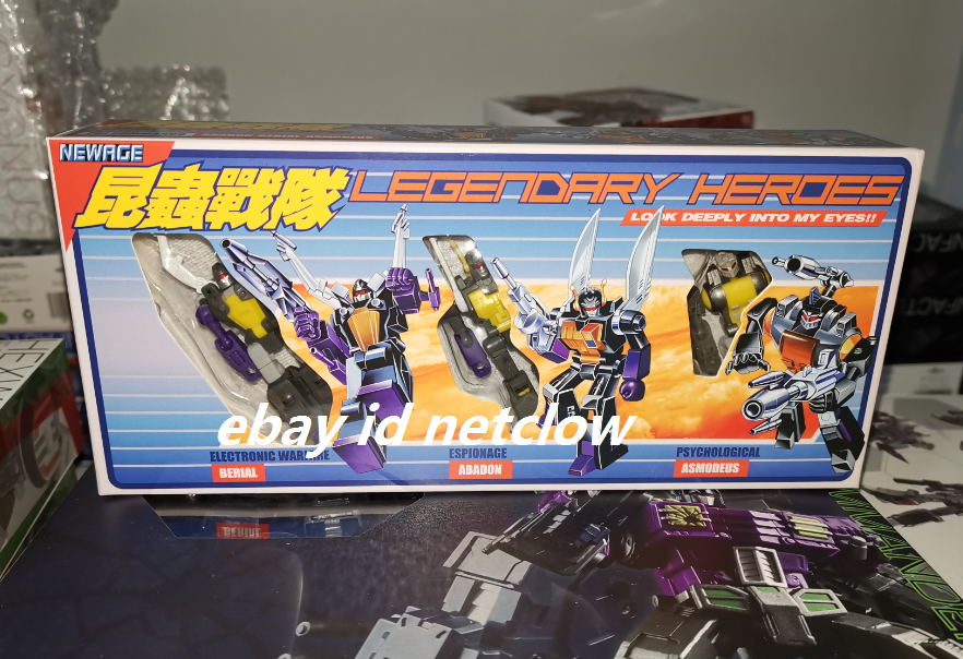 nuovo Age giocattoli NA H10 Abadon H11 Berial H12 Asmodeus in Stock
