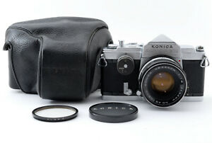Excellent-Konica-Autorex-Film-Camera-w-Hexanon-52mm-f1-8-Lens-From-Japan