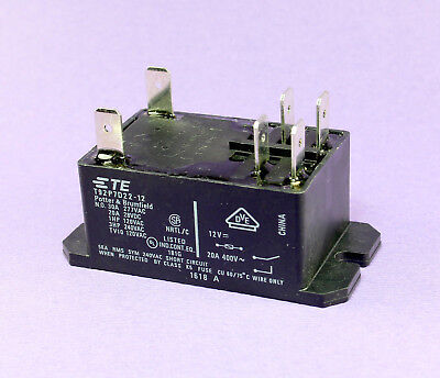 POTTER/&BRUMFIELD 30A T92P7D22-48 TE CONNECTIVITY Relay DPST-NO 28VDC 277VAC