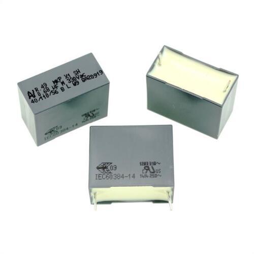 5; r49an368000b9m; 680nf 10x entstörkondensator radiale 0,68µf 330v AC; rm22