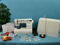 Industrial Strength Sewing Machine Sews Triple Zigzag Reinforcement Stitch +++++