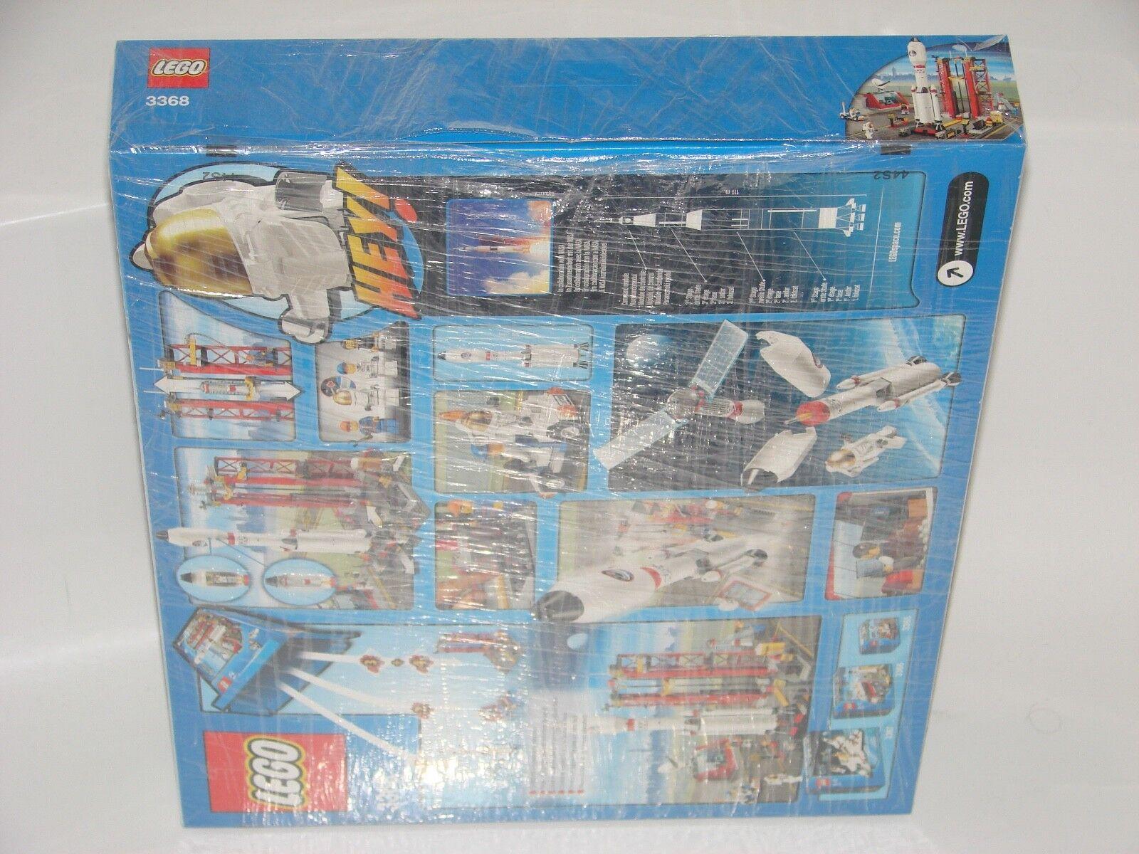 LEGO® City 3368 3368 3368 Raketenstation NEU_ SPACE Center NEW MIB NRFB_original pictures 3c0b21