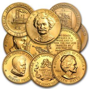 U-S-Mint-1-oz-Gold-Commemorative-Arts-Medal-Random-SKU-8894