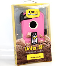 OtterBox Defender Series Case Cover & Holster For iPhone 5S/5/SE Pink & Cream