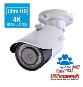 QT-IP 8 MEGAPIXEL Q-See QTN8086BA 8MP 4K Camera QT IP Ultra-HD with H.265