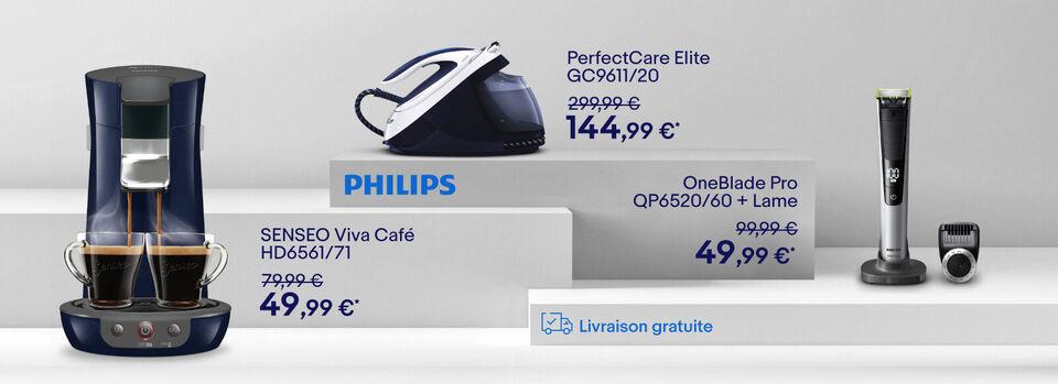 J'en profite - Vente Flash Philips jusqu'à -60%