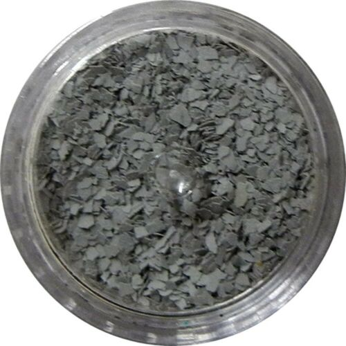 Stone Flakes for Resin Mixing 1pc 3 Gram Jar of Inlace Inlay Grey Fox
