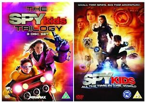 SPY-KIDS-Trilogy-1-4-Quadrilogy-Complete-Collection-1-2-3-4-New-UK-Region-2-DVD