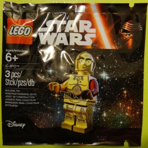 C-3PO LegoStar Wars The Force Awakens 5002948 Minifigure Brand New