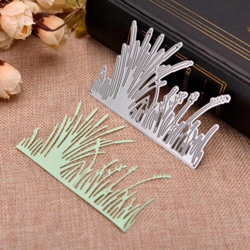 Grass Cutting Dies Stencil Scrapbooking Paper Embossing Craft DIY Die-Cut Fashio