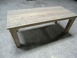 Details zu Tisch Möbel Möbelbauholz Bauholz Gartentisch Esstisch Holztisch  220 - 100 - 76