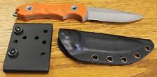 NEW Boker Plus 02YA123 Tactical Magnum Orange Fixed Blade Knife & Kydex Sheath