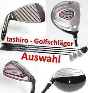 tashiro AUSWAHL Turnier Golfschläger Herren Titan Flex R Eisen Rechts ~yx 0463