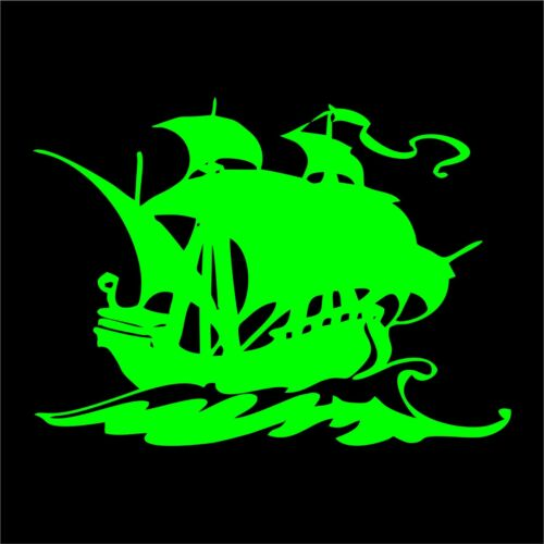Ship Decal Sticker Anchor Sail Boat Sticker Car Decal Laptop Decal Colors//Size