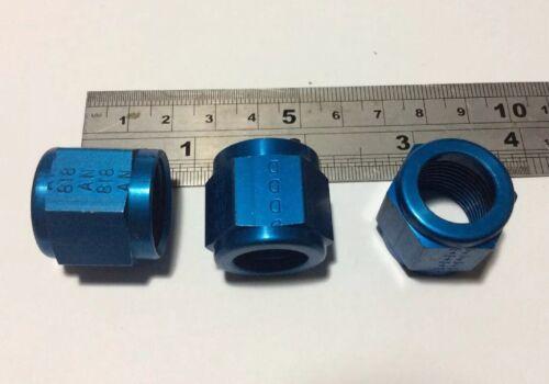 """Nos un JIC Aluminio Tuerca Para 1//2/"""" Tubo AN818-8D Qty 10 CNR//3"""